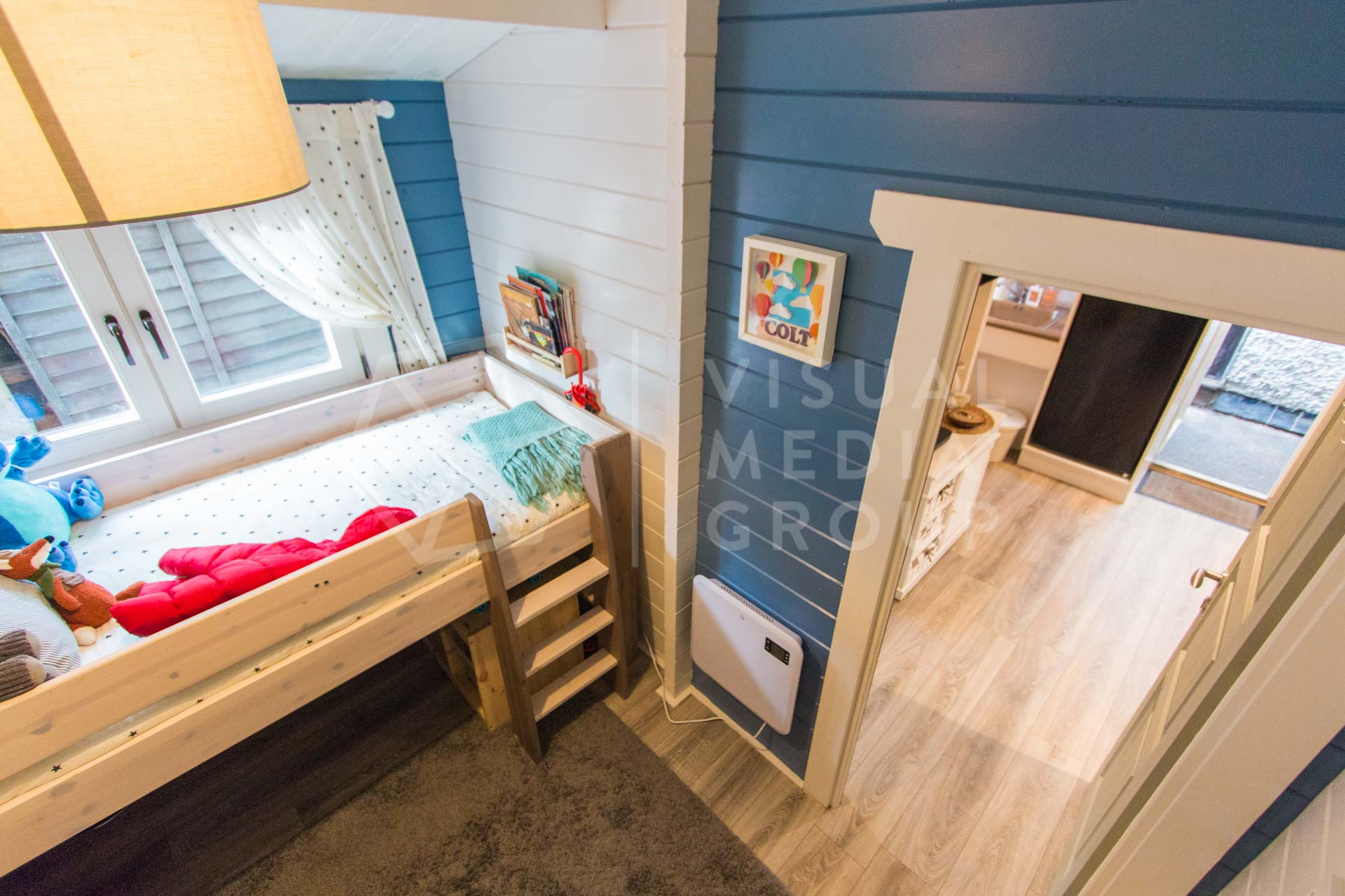 Real Estate Photography Two Bed Log Cabin