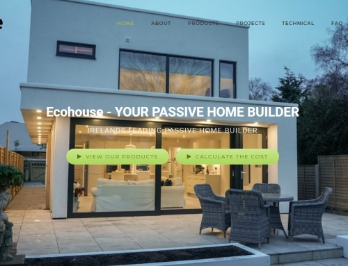 ecohouse.ie website