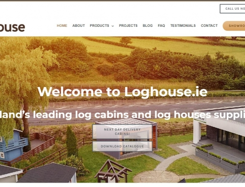 Loghouse.ie website