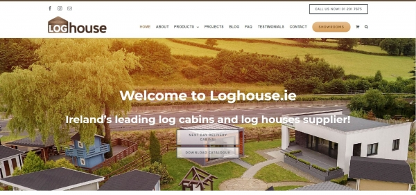 Loghouse.ie Website Building